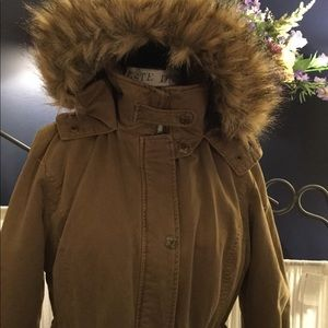 Guess Heavy Anorak hooded parka utility jacket